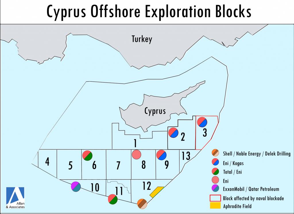 Map Turkey Cyprus