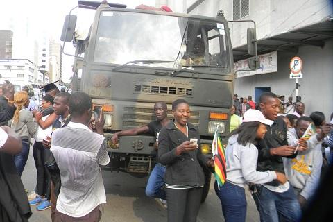 Zimbabwe president ousting